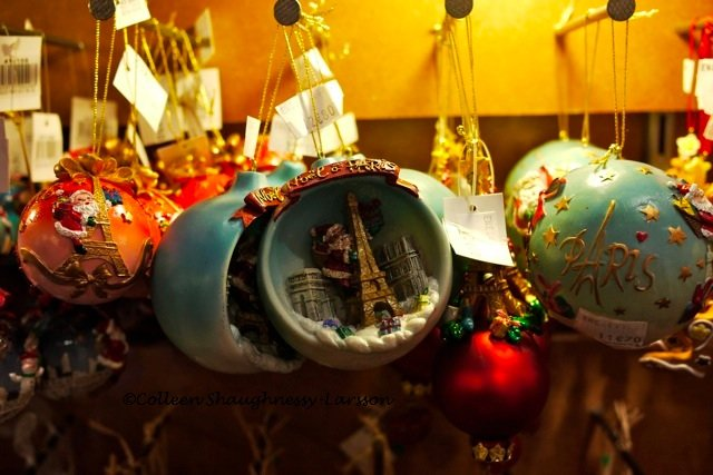 Christmas decorations with a Paris theme | Colleen's Paris