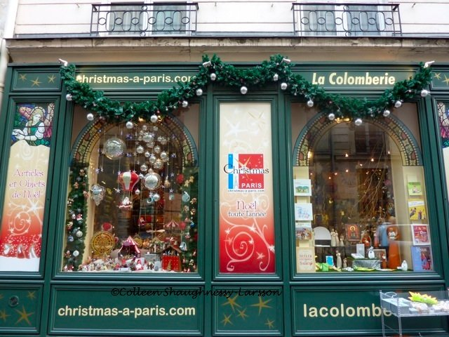 Christmas decorations with a Paris theme Colleens Paris