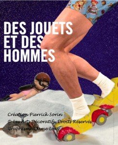 Poster Des Jouets et des hommes, RMN/Grand Palais Paris until January 23, 2012