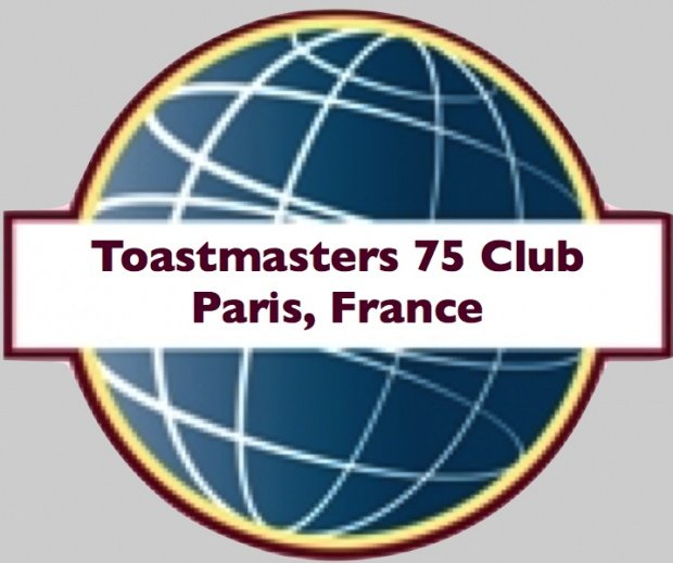 Toastmasters 75 Club, Paris, France
