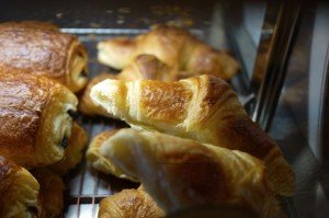 Croissant from La Baguette Tardif-Figaroscope article on Best Croissants in Paris