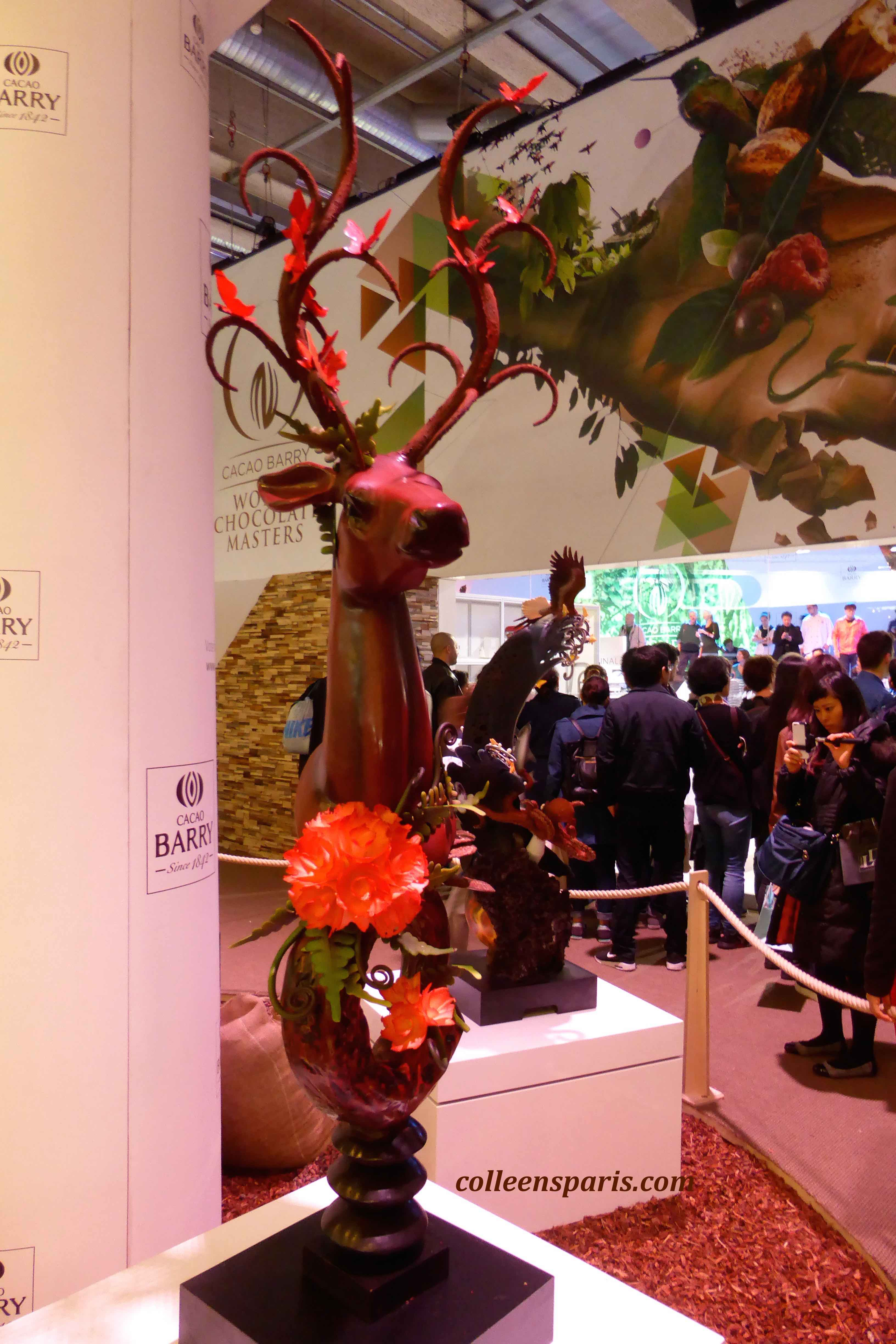 126 salon chocolat sculpture 2015 colleen 39 s paris - Salon porte versailles ...