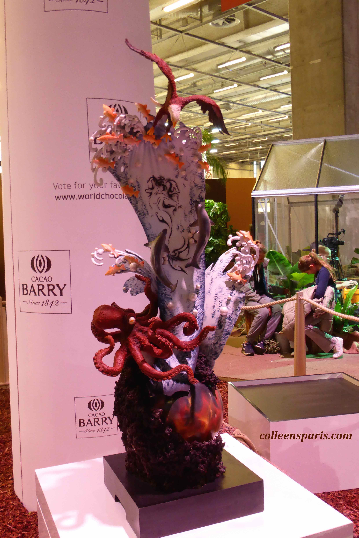 149 salon chocolat sculpture 2015 colleen 39 s paris for Salon porte versailles