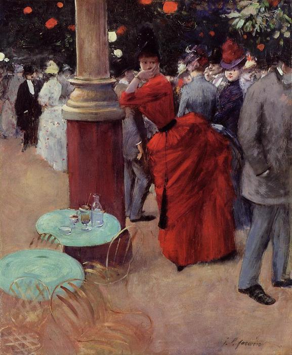 Jean louis forain au jardin de paris colleen 39 s paris for Au jardin paris