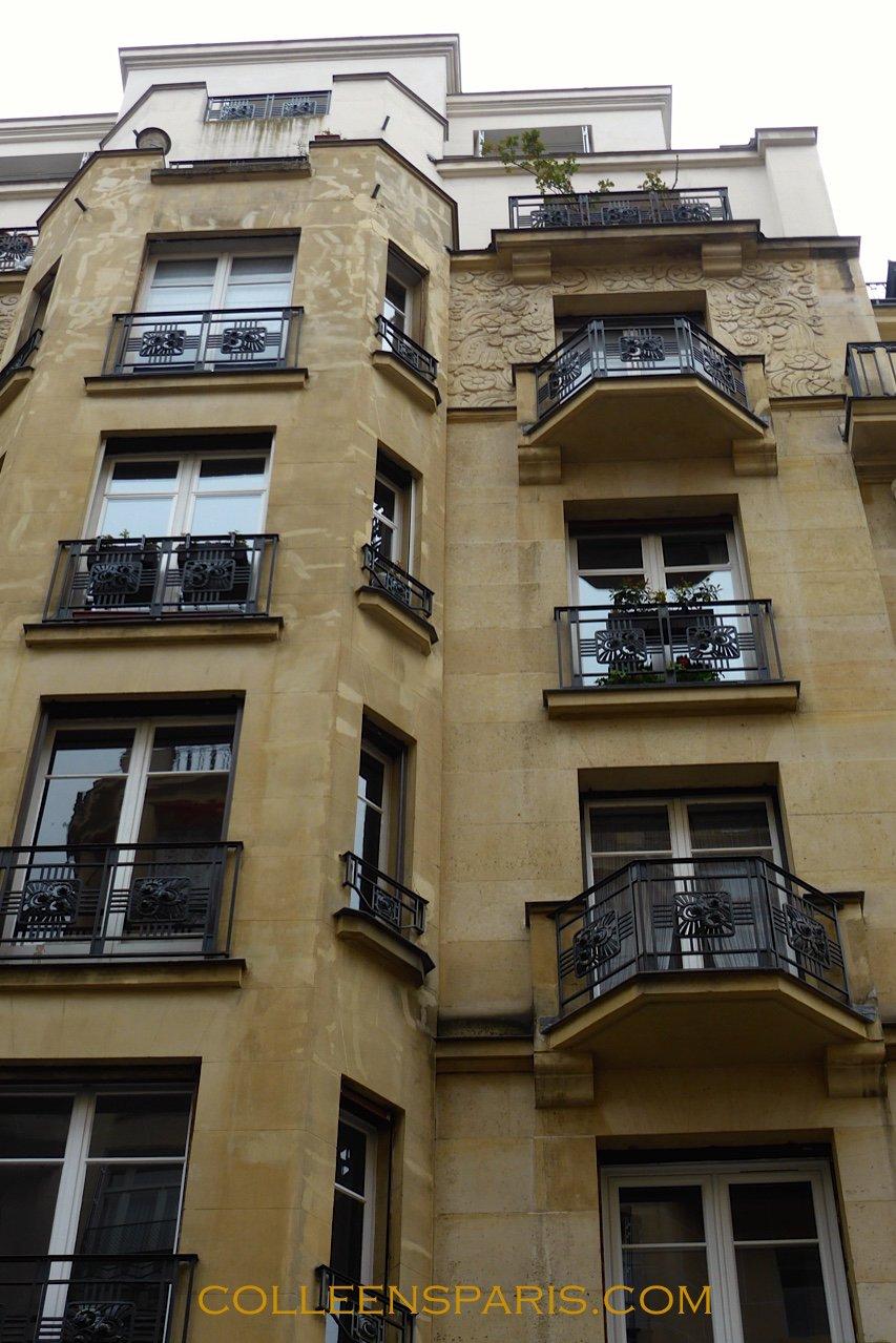 paris art d co with walk my steps colleen 39 s paris. Black Bedroom Furniture Sets. Home Design Ideas