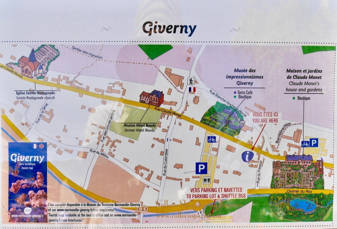 Day Trip To Giverny Via Vernon Panache Rental