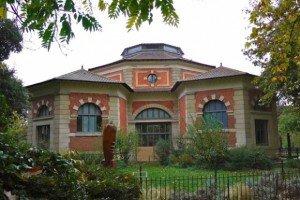 Menagerie-Zoo, building, le Jardin des Plantes, Paris