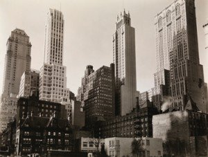 Berenice Abbott Park Avenue and 39th Street, New York 1936, Jeu de Paume