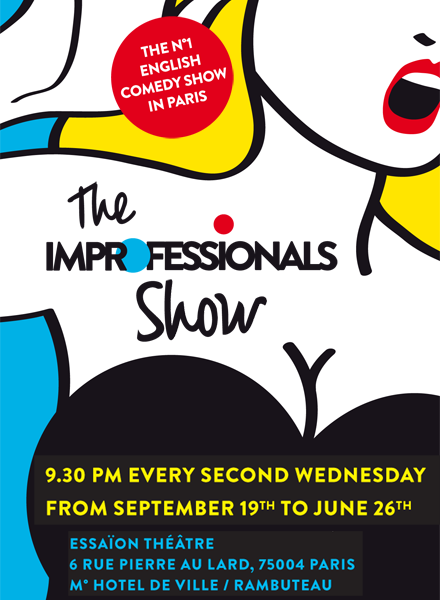 Improfessionals - International improve group - English comedy show