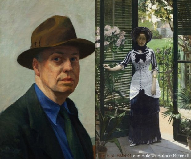 Hopper - Impressionism & Fashion, two Paris exhibits