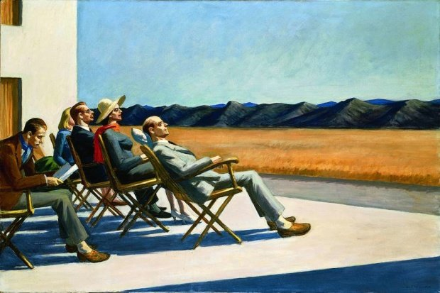 People in the Sun, Edward Hopper