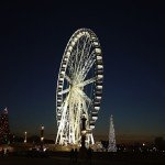 Concorde Ferris Wheel, Christmas Tree, Paris 2012, Cash only for the Ferris Wheel