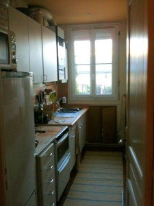 Apartment Kitchen rue Sedaine Paris