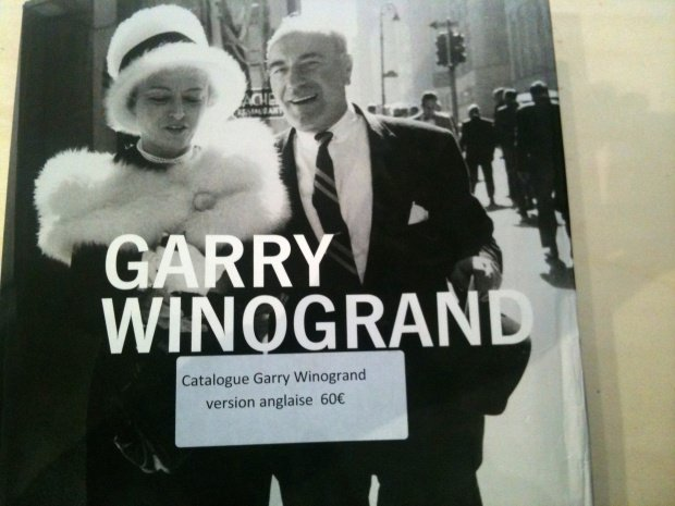 Garry Winogrand, Jeu de Paume exhibit, catalog cover, English version