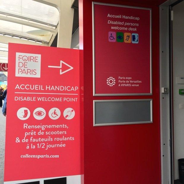 Foire Paris 2015 accessible