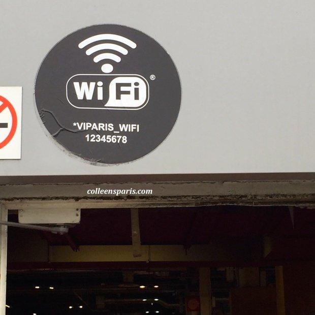 Foire Paris 2015 wifi