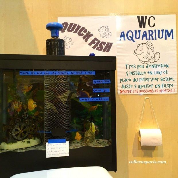 Foire Paris WC Aquarium