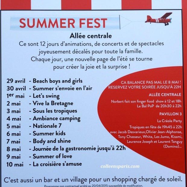 Foire Paris calendar events