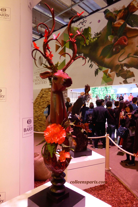 126 salon chocolat sculpture 2015 colleen 39 s paris for Salons 2015 paris
