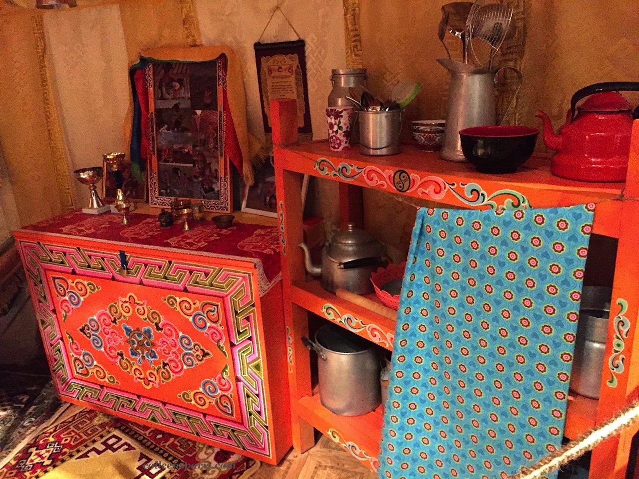 Musee de l'Homme yurt kitchen 6034