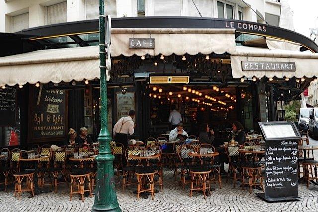 Cafe Le Compas Foursquare Paris