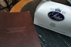 Logo design says so much about brand identity -- okay, they looked good together on the bistrot table at Le Compas