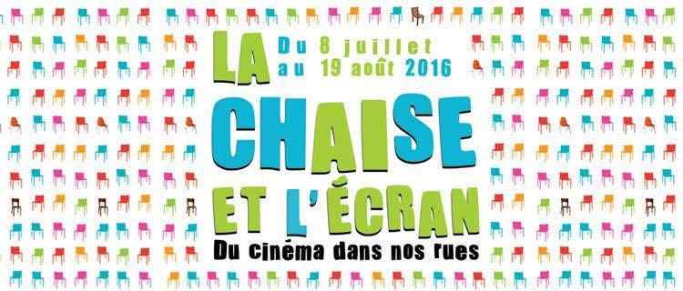 Poster for La Chaise et l'Ecran, du cinéma dans nos rues