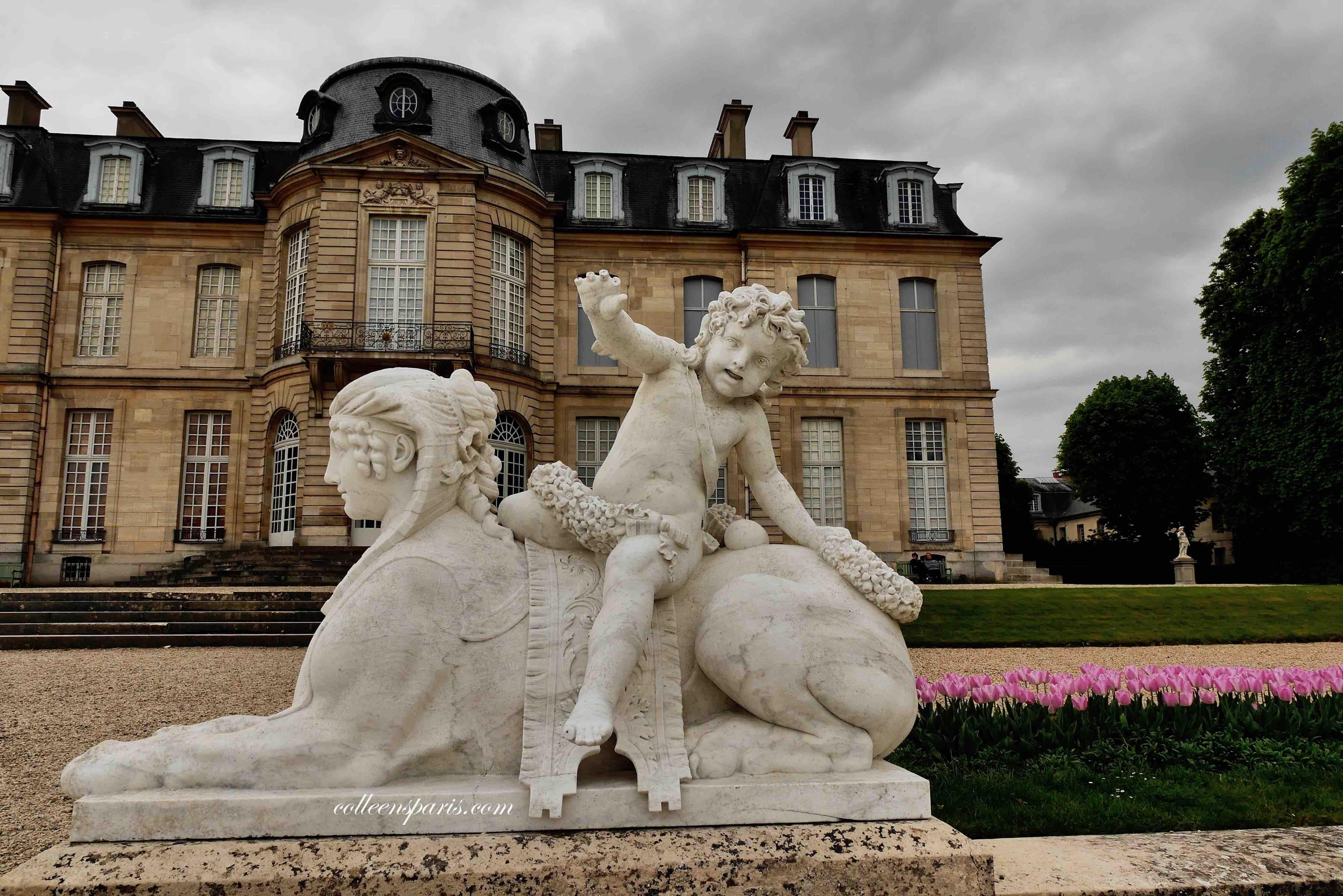 Rear exterior of Château Champs-sur-Marne