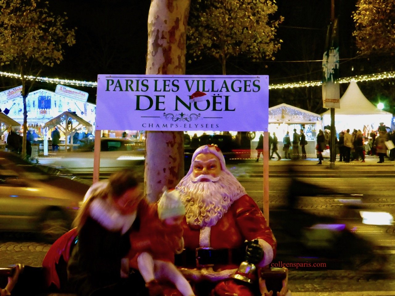 pere noel champs elysees 2018 Champs Elysées Christmas Market No MoreColleen's Paris | Colleen's  pere noel champs elysees 2018