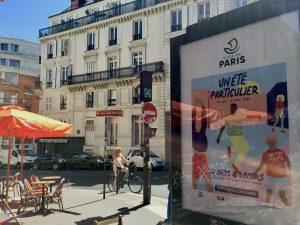 Poster along Boulevard Beaumarchais for Un été particulier 2020